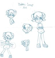 Bubbles Concept Art by Natsumi-chan0wolf