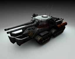 Apocalypse Tank by CrescentRaven