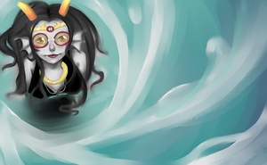 Homestuck: Diver by Squidypus