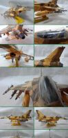F-16 C Fighting Falcon Block 60 Papercraft by Mironius