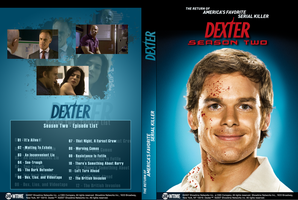 Dexter Season Two DVD Cover by deino-erd