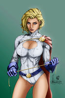 Power Girl by leseraphin