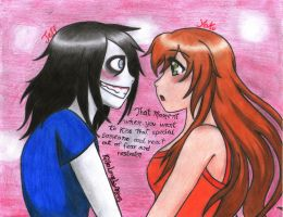 Jeff The killer: Just a kiss by KillerLovelyMins