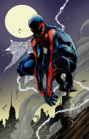 Spider-Man 2099 by billyVan777