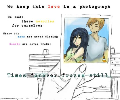 Love in a Photograph by DinDeen
