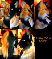 Halloween Calico Cat  SOLD by Magpieb0nes