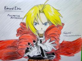 Edward Elric by Sasukelover0202