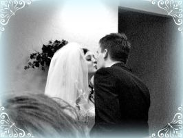 My cousin and his new wife by Lady-Masko