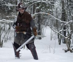 Witch hunter larp costume by Davio3d