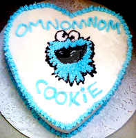 OMNOMNOMN COOKIE CAKE D8 by Tifa-the-Strange