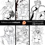 Patreon Prizes December -part1 by Mistiqarts