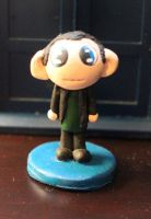 Chibi Ninth Doctor Figure by comicalclare