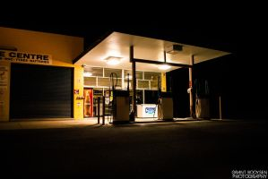 Gas Station 2 by Grant-Booysen