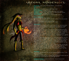 GS OC - Areona Nandendiel by Ghost-Silver
