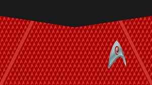 Starfleet Engineering Uniform Wallpaper by jonizaak