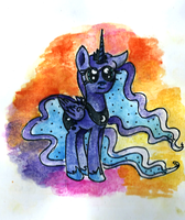 Smiling Princess of the Night by smartMeggie