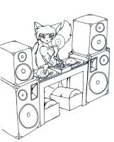 Seth the DJ by tierafoxglove