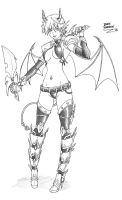 SEXY FEMALE DEMON by IDarkShadowI