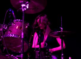 After Hours Blues Band Drummer Ann Batty by DundeePhotographics