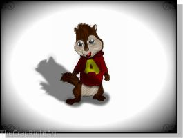 Alvin My Pal by TheCrapRightArt