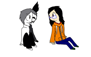 :RQ: Halfy and Sean by SparkyChan23