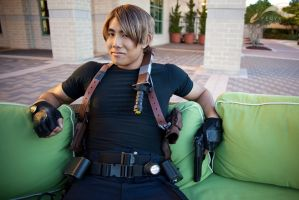 EXPCon 2011 - Resident Evil | Leon by elysiagriffin
