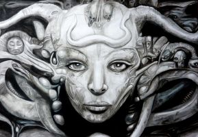 H.R. Giger by SargeMcCluck
