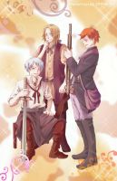 .APH.Three Musketeers by fredericayang