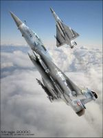Mirage 2000c by GrahamTG