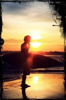 tanjung layar's sunset by Imam0303