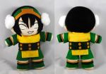 Toph Plush - Avatar: The Last Airbender by sakkysa
