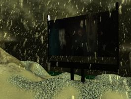 Enviroment Practice: Drive-in Screen by ARHamilton