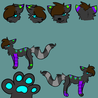 Art Trade: Reference sheet by KKMW