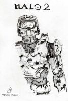 Halo Master Chief by jlel