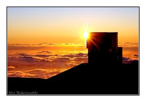 Mauna Kea Sunset by Alexbalix