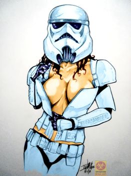 Trooper with an Attitude by MrLively