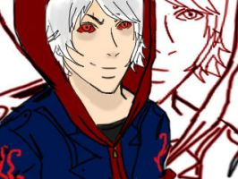 devil may cry 4 nero darck by michiz123