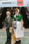 England and Chibitlia at Anime Expo 2014 by WolfyTook