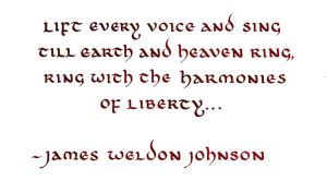 James Weldon Johnson - Lift Every Voice and Sing by MShades