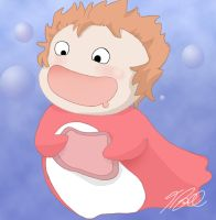 Ponyo for Joe by evilsnowball7