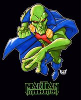 MARTIAN MANHUNTER by JUANPUIS