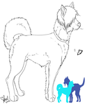 Crystian Canine Ref (lines) by SmoothieSmasher