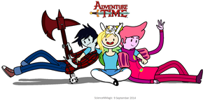 Adventure Time Rocks! by ScienceNMagic