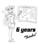 Thanks - 6 Years by shoxxe