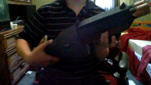 my team fortress 2 scattergun prop pt 1 by Clawed-Artist