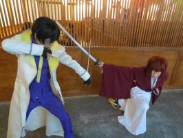 aoshi vs kenshin 2 by eve1789