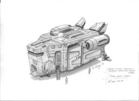 Star Wars Style Local Cargo Transport by SARGY001