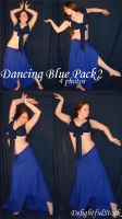 Blue Dance2 DelightfulStock by DelightfulStock