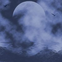 Dark Sea Background by Junk-stock