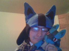 Lucario Hat by RaveSolid13